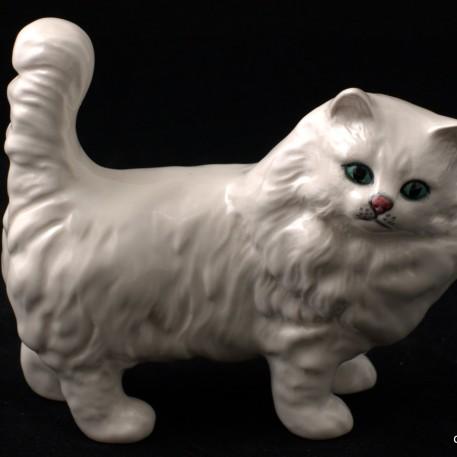 Белый кот, Royal Doulton, Великобритания