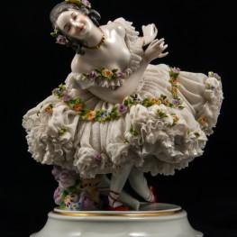 Прима-балерина, кружевная, Дрезден, Германия, кон. 19 в