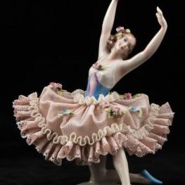 Балерина, кружевная, Sitzendorf, Германия, до 1940 гг