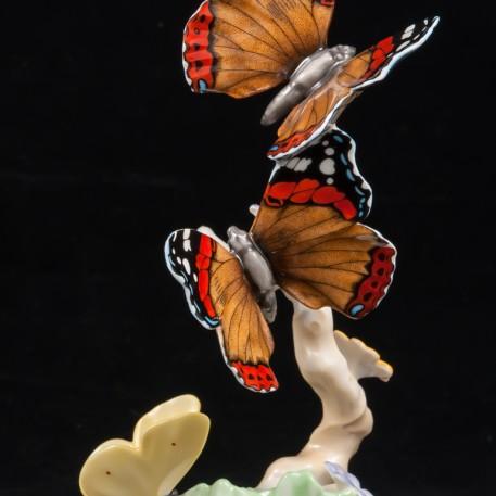 Бабочки, Hutschenreuther, Германия