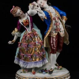 Пара танцующая на балу, Ernst Bohne Sohne, Германия, 1901-37 гг