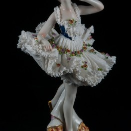 Балерина, кружевная, Volkstedt, Германия, 1915-35 гг