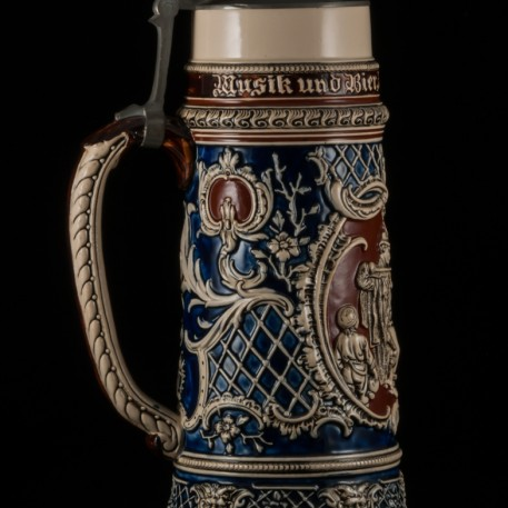 Пивная кружка, 2л, Reinhold Hanke, Германия, ок. 1890 г