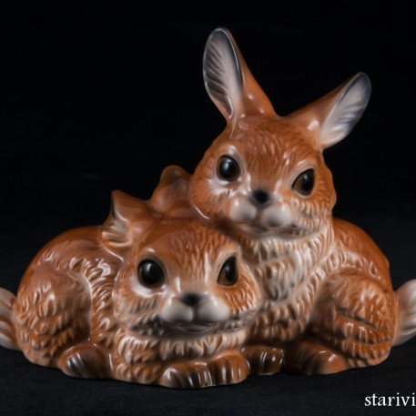 Два зайчика, Goebel, Германия
