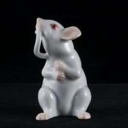 Белая мышка, Herend, Венгрия