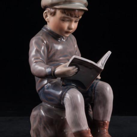 Мальчик с книжкой, Dahl Jensen, Дания