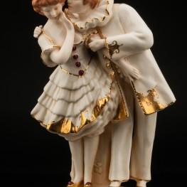 Пьеро и Коломбина, Royal Dux, Чехия