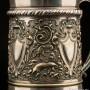 Металлическая кружка 1 л, серебрение, Wurttembergische Metallwaren-Fabrik (WMF), Германия, ок. 1900 гг