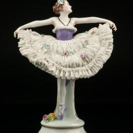 Балерина, кружевная, E & A Muller (Schwarza-Saalbahn), Германия, до 1927 г