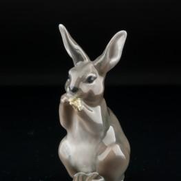 Кролик с листом, миниатюра, Royal Copenhagen, Дания, 1969-74 гг