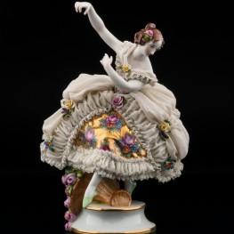 Балерина, кружевная, Muller & Co, Германия, нач. 20 в