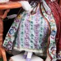 Мечтающая девушка у столика, Dressel, Kister & Cie, Германия, 1907-20 гг