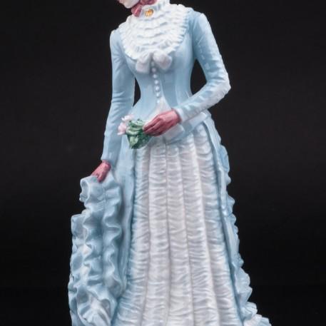 1878: Платье с турнюром, Royal Worcester, Великобритания, 1990 г