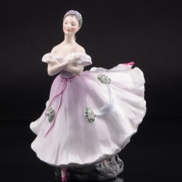 Балерина в розовом, Royal Doulton, Великобритания, 1952 г