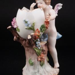 Ангелочек (Пасхальная композиция), Carl Thieme, Германия, 1888-1901 гг