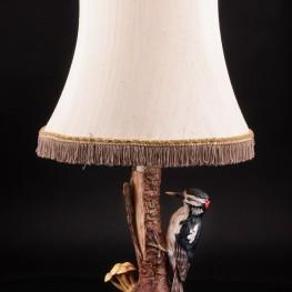 Лампа Пестрый дятел, Goebel, Германия, 1976 г