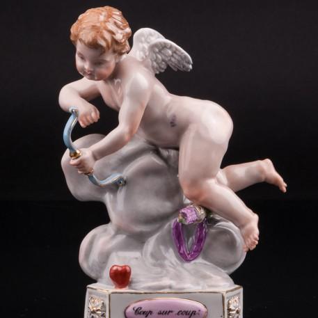 """""""Раз за разом"""", ангелочек, Meissen, Германия, 19 в"""