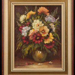 Букет цветов, натюрморт  сер. 20 в