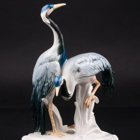 Два журавля, Karl Ens, Германия, 1920-30 гг