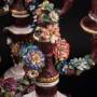 Два канделябра с цветами, Ackermann & Fritze, Германия, нач. 20 в