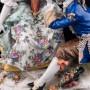 Любовный разговор, романтическая пара, Дрезден, Германия, кон. 19 - нач. 20 вв