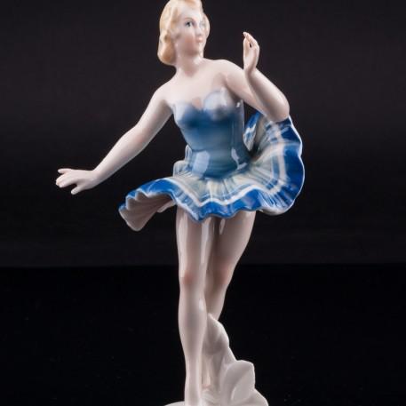 Балерина в голубой пачке, Karl Ens, Германия, 1920-30 гг
