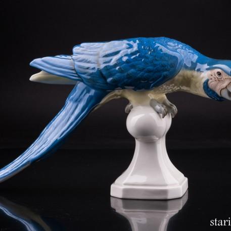 Попугай ара, Royal Dux, Чехия, пер. пол. 20 в