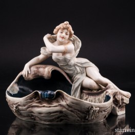 Нимфа, Royal Dux, Чехия, 1900-18 гг