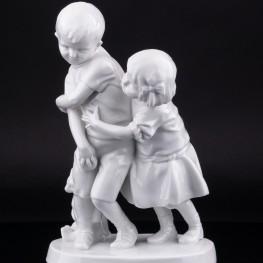 Играющие дети, Fraureuth, Германия, 1918 г