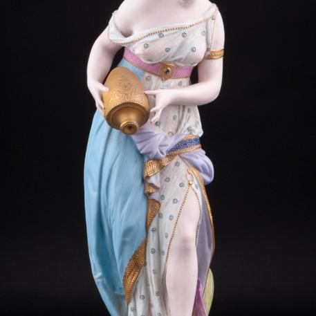 Дама с кувшином, Vion Baury, Франция, 1870-1889 гг