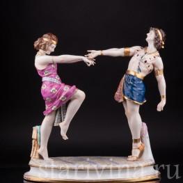 Михаил и Вера Фокины в балете Клеопатра (Египетские Ночи), Volkstedt, Германия, до 1935 г