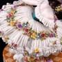 Балерина в поклоне, кружевная, Volkstedt, Германия, кон. 19 - нач. 20 вв