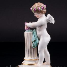 Соединение сердец, ангелочек, Meissen, Германия, 19 в