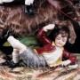 Дети, играющие с козлом, Ernst Bohne Sohne, Германия, нач. 20 в