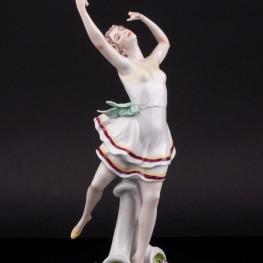 Танцующая девушка , Scheibe-Alsbach, Германия, сер. 20 в