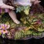 Фарфоровая Вазы Играющие дети, Richard Eckert & Co, Германия, кон. 19 в.