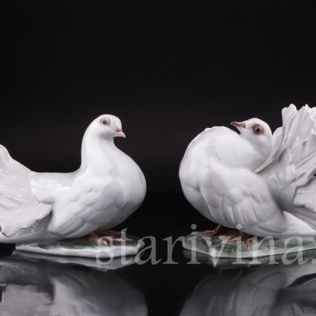 Голубь и голубка, Rosenthal, Германия, 1960 гг