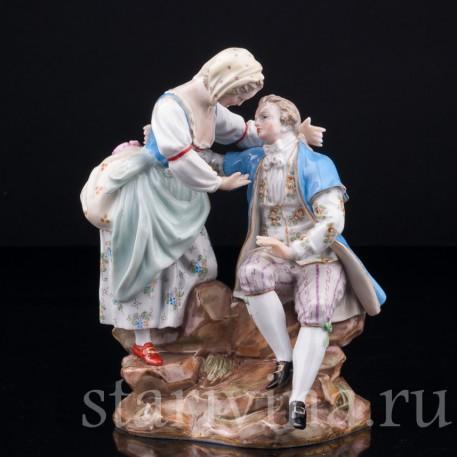 Влюбленная пара, Meissen, Германия, 19 в