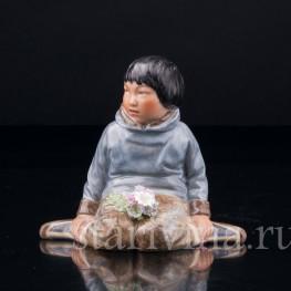 Гренландский мальчик , Royal Copenhagen, Дания, пер. пол. 20 в