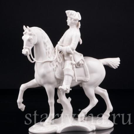 Фарфорвая статуэтка Охотник, Nymphenburg, Германия, сер. 20 в.