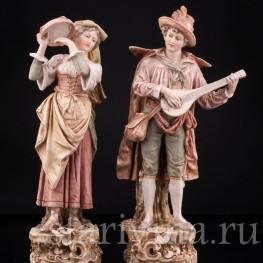 Пара, Royal Dux, Чехия, нач. 20 в