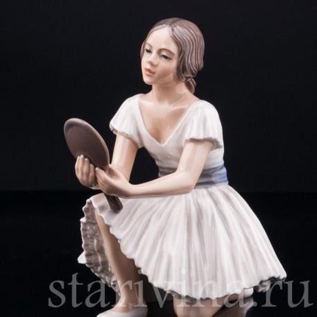 Балерина с зеркалом, Dahl Jensen, Дания, сер. 20 в