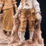 Пара в золотых костюмах, Австрия, нач. 20 в