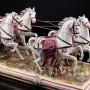 Карета с четверкой лошадей, Volkstedt, Германия, сер. 20 в