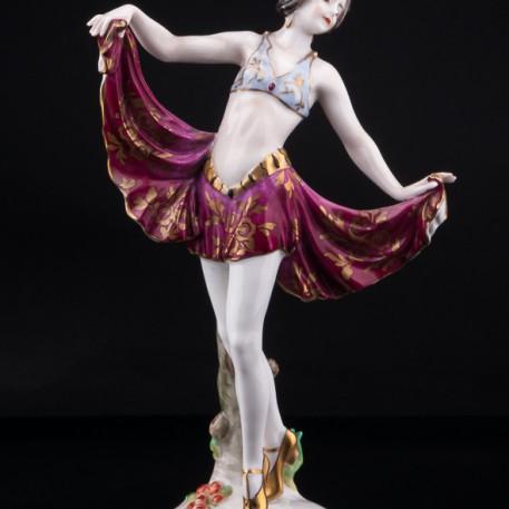 Танцовщица ардеко, Volkstedt, Германия, до 1935 г