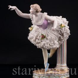 Балерина, кружевная, Volkstedt, Германия, кон. 19 - нач. 20 вв