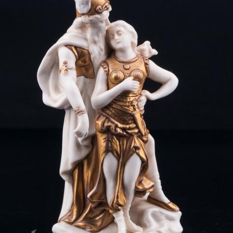 Зигфрид и Брунгильда, миниатюра, Scheibe-Alsbach, Германия, нач. 20 в