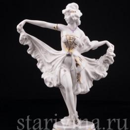 "Танцовщица ""Мотылек"", Hutschenreuther, Германия, 1928-34 гг"