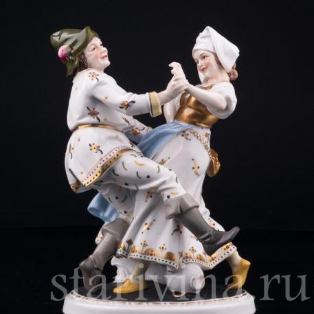 Деревенские танцы, Hertwig & Co, Katzhutte, Германия, нач. 20 в