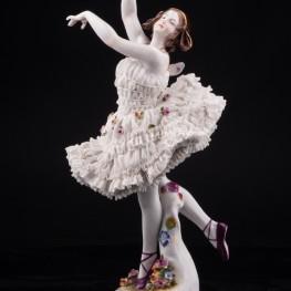 Анна Павлова в балете Бабочка, Volkstedt, Германия, до 1935 г
